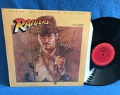 "RARE, Vintage, ""Raiders Of The Lost Ark"" Original Soundtrack, Film Score  Vinyl LP, Record Album, John Williams, Indiana Jones"