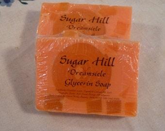 Sugar Hill Orange Dreamsicle Glycerin Soap