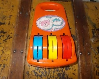 Playskool Vintage Baby Chime Music Toy, Music Toy, Baby Toy, Baby Music Toy, Playskool Toys, Vintage Toys, Toys, Chime Toy,