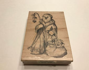 LARGE Holdiday rubber stamp, 110 mm (BB1/1)