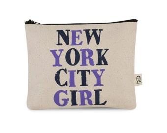 new york city girl pouch