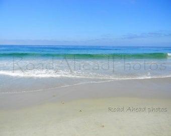 8x10 matted photograph Laguna Beach, California, beach photography