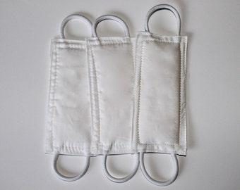All White Door Silencer, Door Jammer, Nursery Door Silencer, Door cushion, Door latch cover, baby shower gift, PATENTED LATCHY CATCHY
