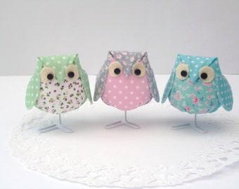 Single Fabric Owl  (NEW)