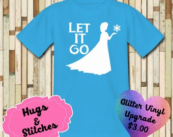 Elsa Let It GO Shirt