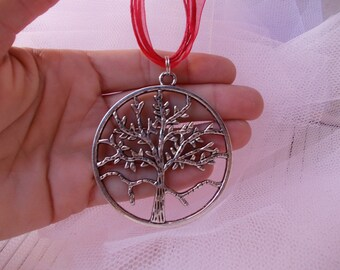Free shipping, necklace tree of life
