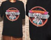 Vintage Van Halen Band T-shirt // Vintage Rock Memorabilia // size small S