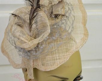 Derby Hat / Fascinator / Cocktail Hat /  Race Hat