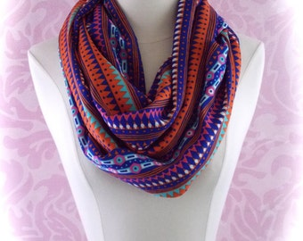 Colorful scarf/triangle scarf