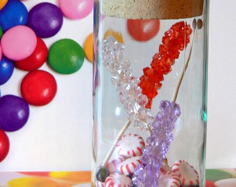 LILAC Fake Rock Candy Christmas Ornament Decoration Christmas Candy