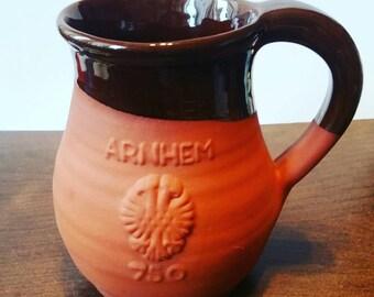 Stone Beer Mug, Arnhem Korenmarkt 750 years celebration Pint