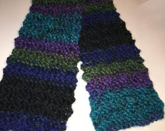Child's Scarf - Knitted Scarf - Handmade Scarf - Small Scarf
