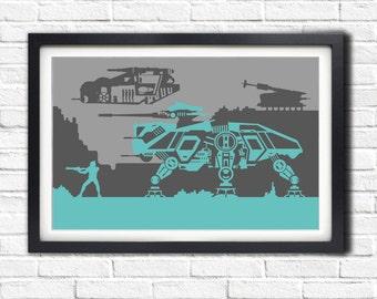 Star Wars - GEONOSIS CLONES - 19x13 Poster