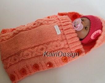 Baby doll sleeping bag  (43-45 cm doll)