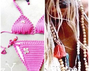 Crochet bikini Size S/M