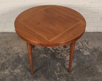 Mid-Century Danish Modern End / Side Table / Nightstand By American Of Martinsville - SHIPPING NOT INCLUDED