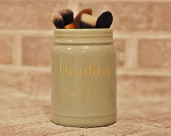 Ceramic Make-Up Brush Holder