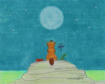 Beaver Moon Luv Collection Greeting Cards - Note Cards. Includes White Envelopes. Blank Inside.