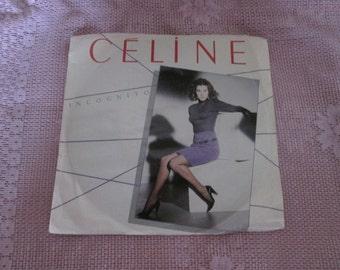 Céline Dion Incognito Vintage record 45 rpm