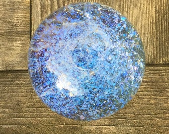 Contemporary art glass Galaxy Marble Free Ship