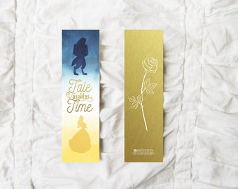 Beauty and the Beast - Bookmark