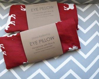 Lavender Rice Meditation Eye Pillow
