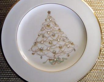 Noritake Palace Christmas Gold Holiday Salad Plate, 7 available