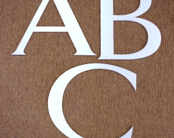 Large Vintage Aluminum Marquee Letters Choose A, B or C