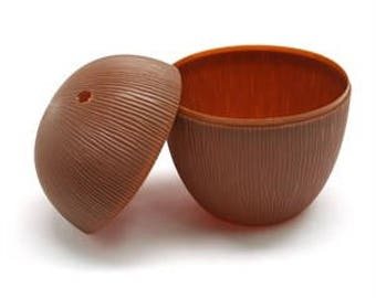Coconut plastic drinking cups    Set of 2