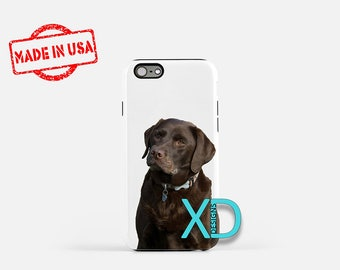 Chocolate Lab iPhone Case, Dog iPhone Case, Lab iPhone 8 Case, iPhone 6s Case, iPhone 7 Case, Phone Case, iPhone X Case, SE Case New