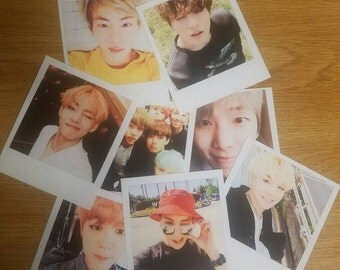 BTS Selca Polaroids