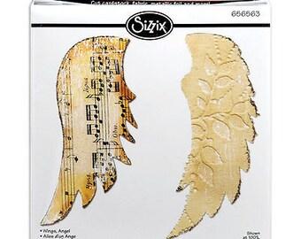Sizzix Bigz Die 5.5'X6'-Angel Wings