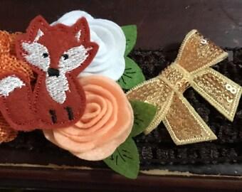 Fox Baby headband