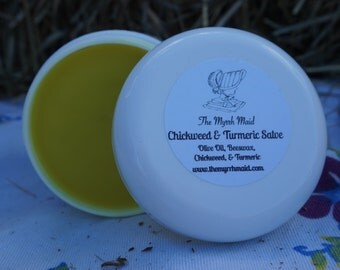 1oz Chickweed & Turmeric Salve