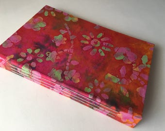 A5, Sketch Book, Bullet Journal, Writing Journal, Blank Journal, Notebook, Travel Journal, Tie Dye, Batik, Sketchbook, Diary, Art Journal