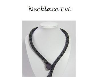 Beading Pattern Necklace Evi PDF (English)