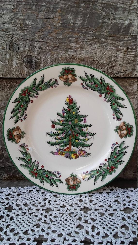 Christmas Plate, Spode Side Plate