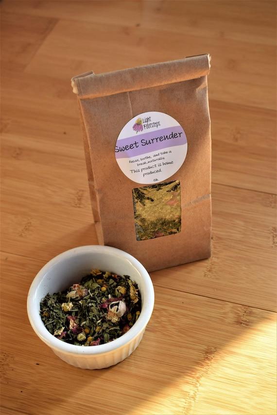 Sweet Surrender Herbal Tea ~ Organic Herbal Tea Blend - Homemade -  For Ohio Customers Only