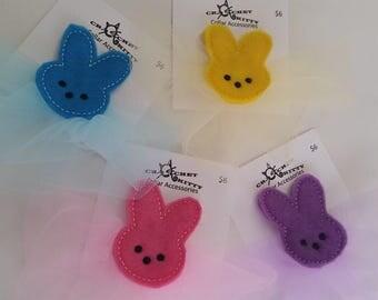 Marshmallow Bunny Dog or Cat Collar Accessory (1)
