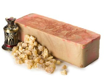 Frankincense and Myrrh Soap Logs, FREE SHIPPING, Homemade Soap, Natural Soap Bar, Cold Process Soap, Bulk Soap Bulk, Wholesale Soap, Soaps