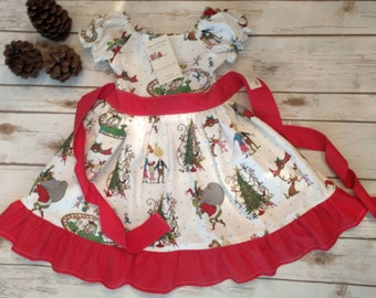 Christmas/Holiday Dress Made to Order