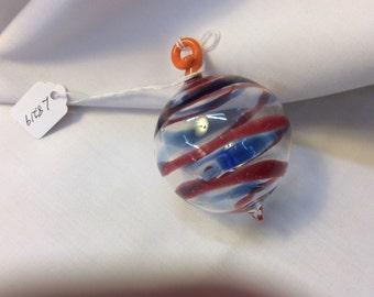Vintage Hand Blown Glass Ornament