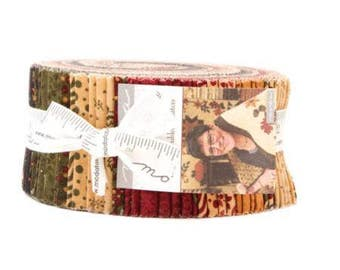 Gooseberry Lane Jelly Roll by Kansas Troubles Quilters for Moda