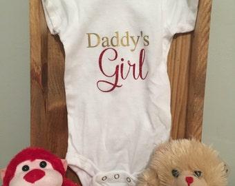 Daddy's Girl Valentine's Day Onesie