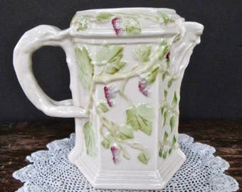 Belleek Grape Vine Pitcher