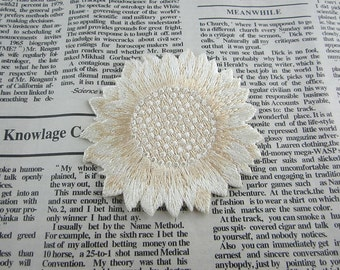 Flower Embroidered Applique Iron On Patch