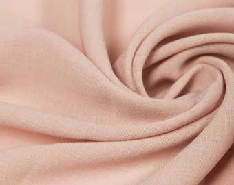 Blush 59'' Solid Linen Look Light-Weight Poly Fabric by the Yard - Style 688