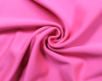 Neon Pink Spand-Tek Compression Wicking Neoprene Fabric by the Yard - Style 3058
