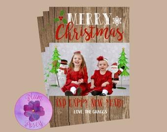 Christmas Card 5x7 Printable