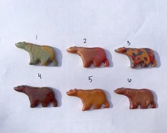 California Bear Pins set B
